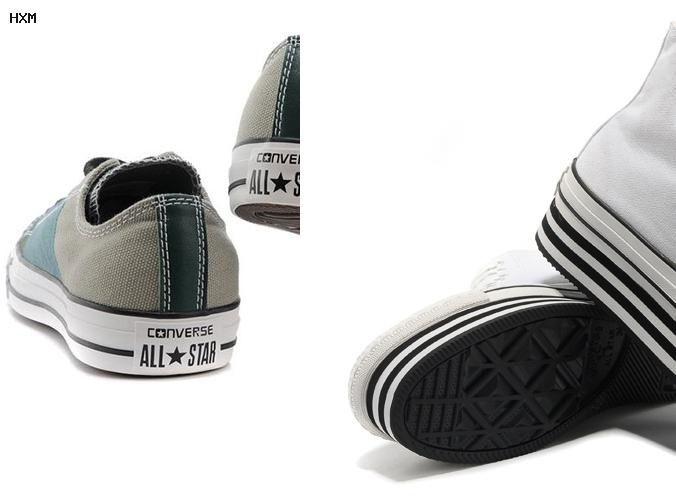 converse all star wit leer
