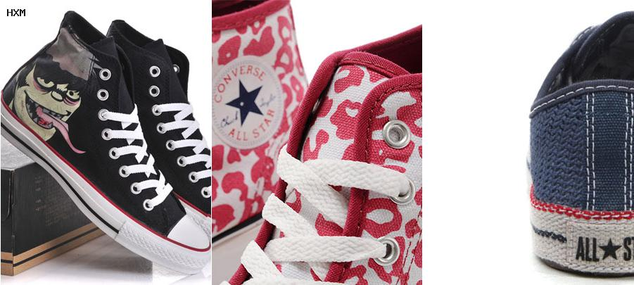 converse all stars ox zwart