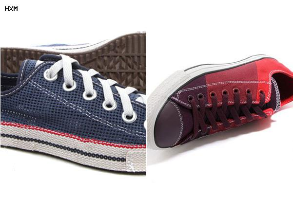 converse wedge trainers
