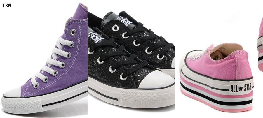 grijze converse sneakers as ox dames
